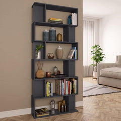 Gray-Book-Cabinet-Room-Divider-Chipboard-HomeOffice4Us