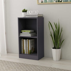 Chipboard Gray Colour Modern Bookshelf.jpg
