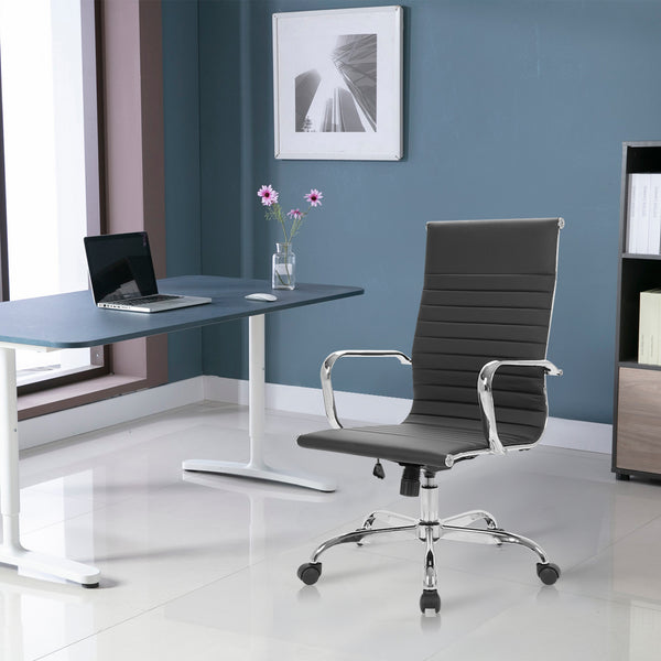 Adjustable Stool Rolling Swivel Executive Office Chair