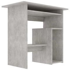 "Desk Concrete Gray 31.5""x17.7""x29.1"" Chipboard - HomeOffice4Us"