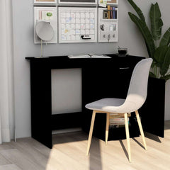 Stylish Design Black Chipboard Office Desk
