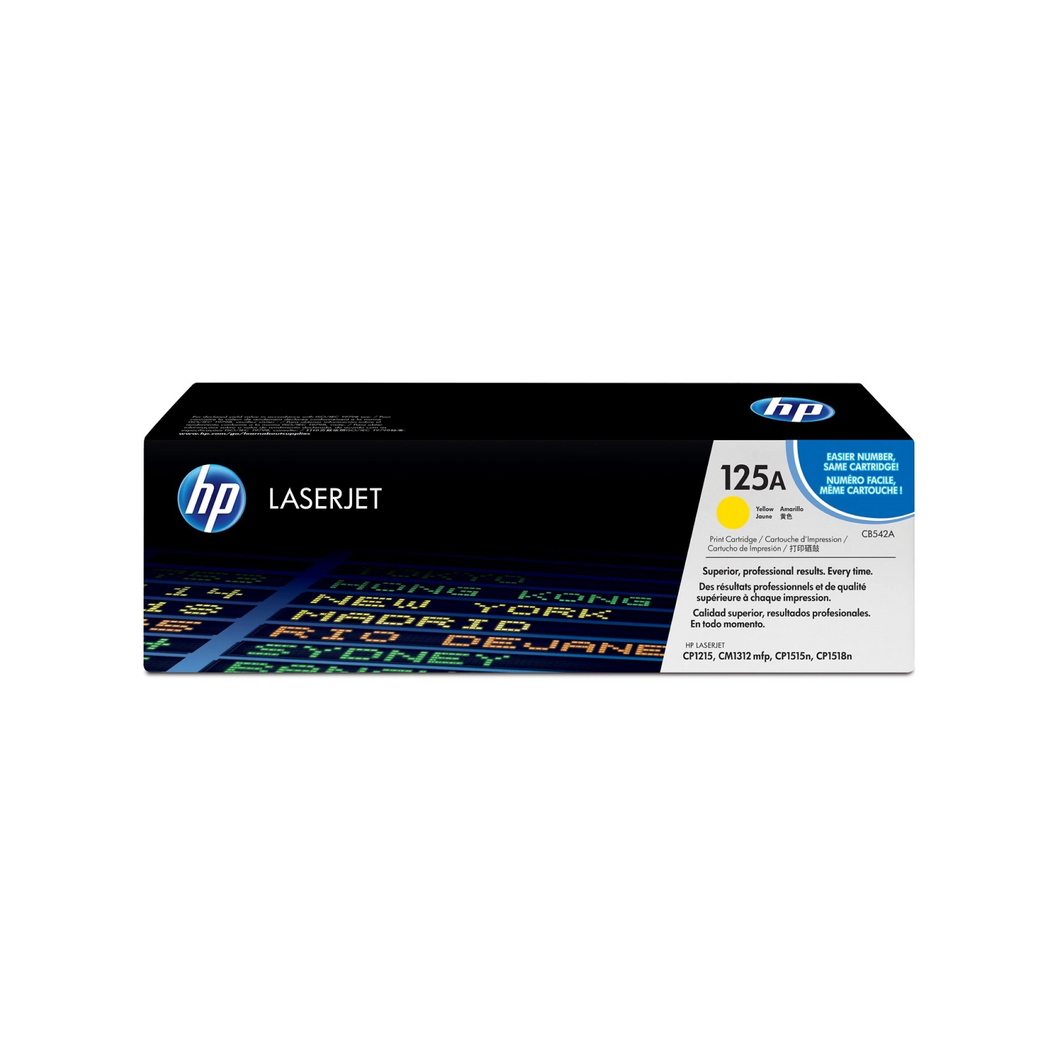 HP 125A Toner (CB542A) - Yellow