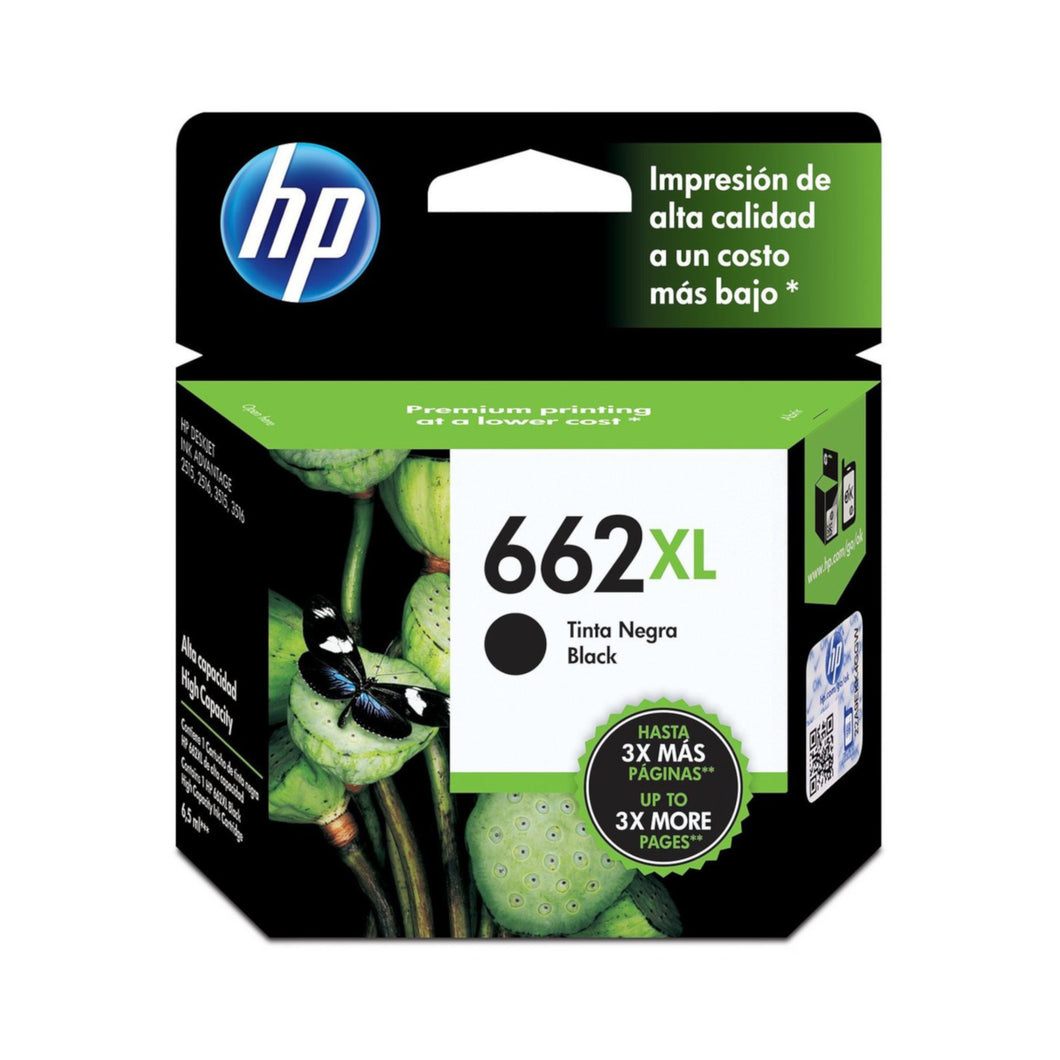 HP 662XL Ink Cartridge - Black