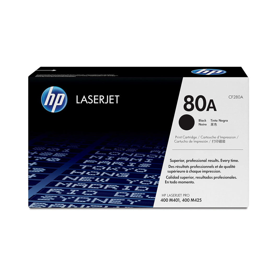HP 80A Toner (CF280A) - Black