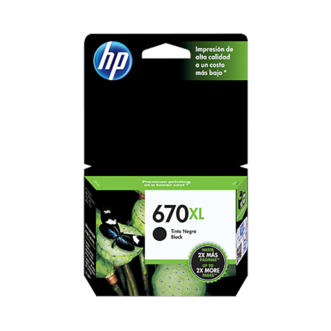 HP 670XL Ink Cartridge - Black