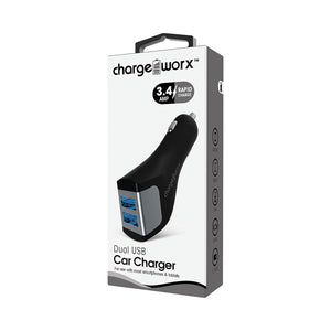 Charge Worx Car Charger 3.4 A