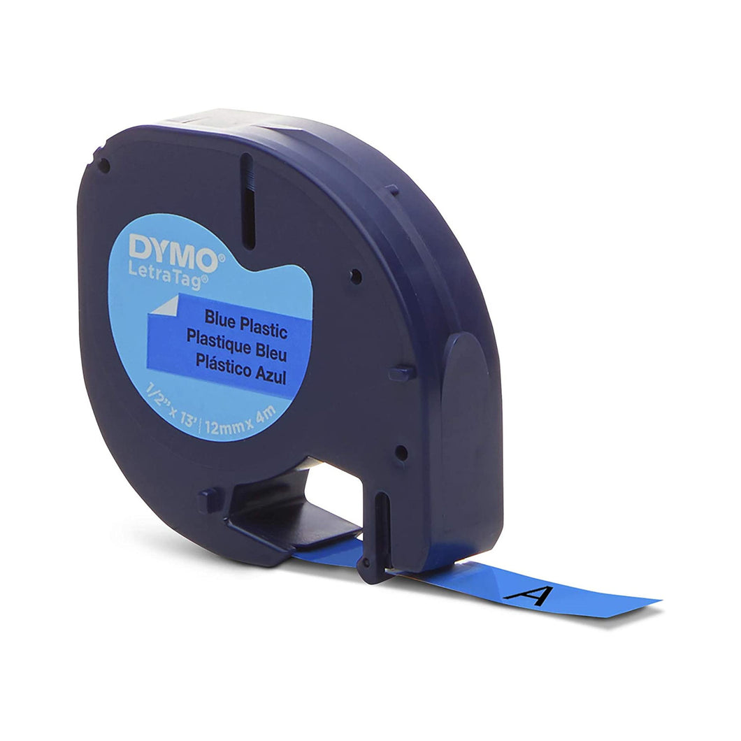 DYMO 91335 Blue Label 12mm x 4m LetraTag
