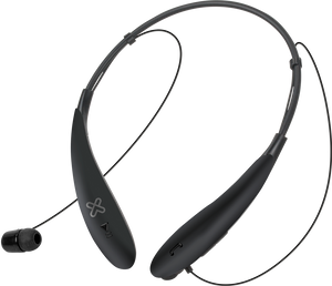 KlipX BluBudz Bluetoot in-ear Sport Earphones Black