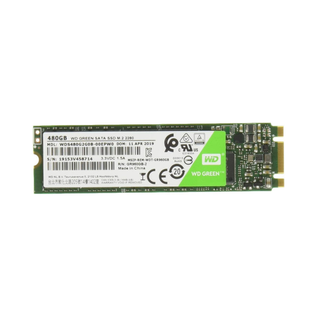 WD SSD Green (480GB, M.2)