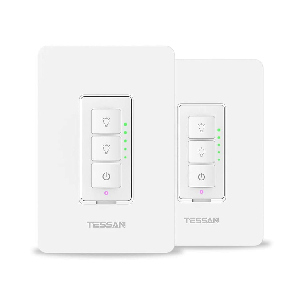 Tessan Dimmer LightSwitch 2 Pc