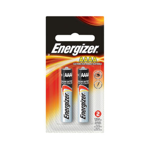 Energizer AAAA Size Batteries 2pack
