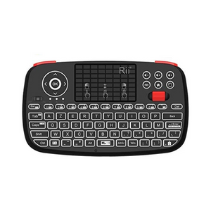 Rii i4+BT LED Backlit Mini Keyboard with Touchpad