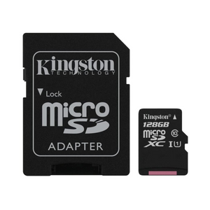 Kingston Micro SD (128GB, A1 Class 10)