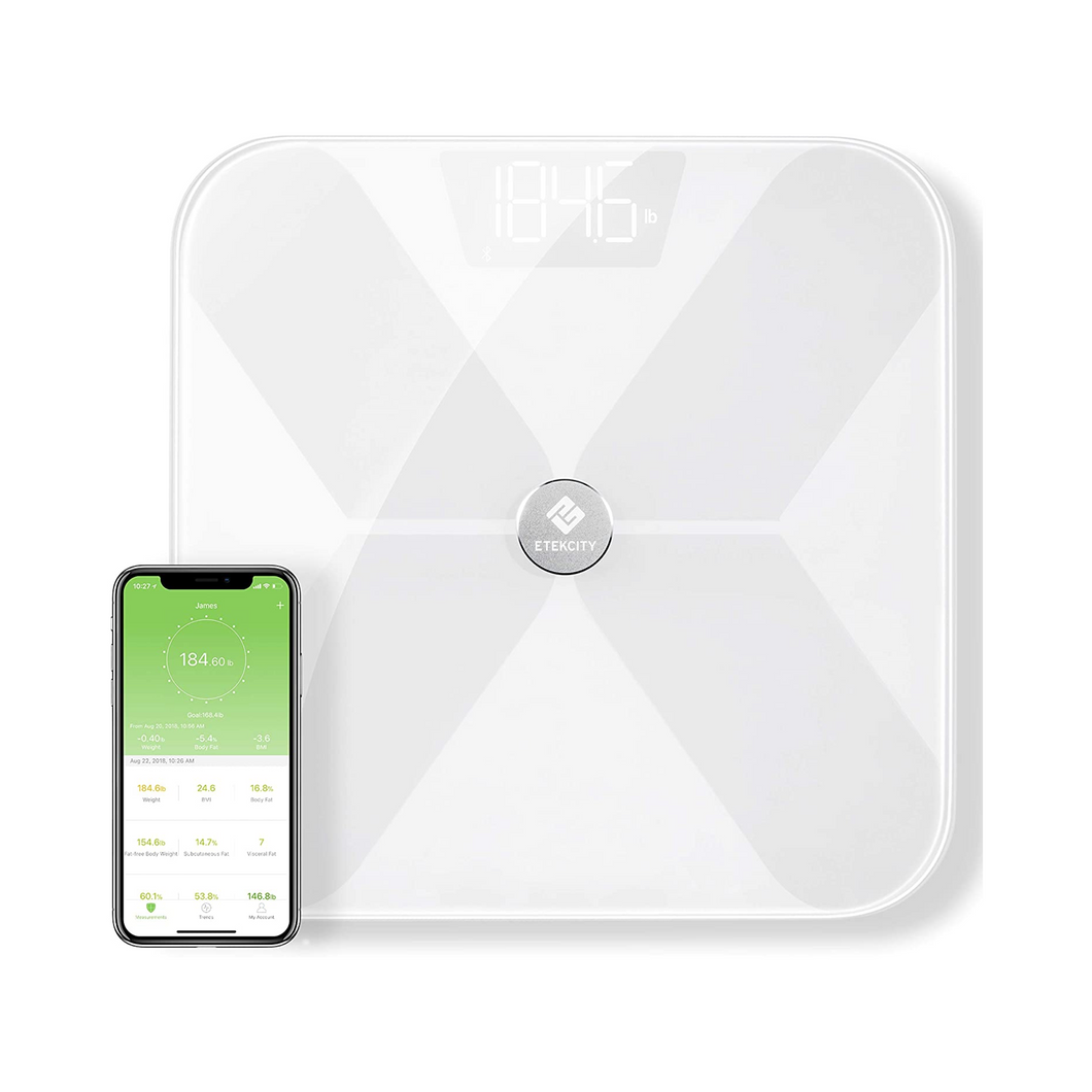 Etekcity Smart Bluetooth Body Fat Scale