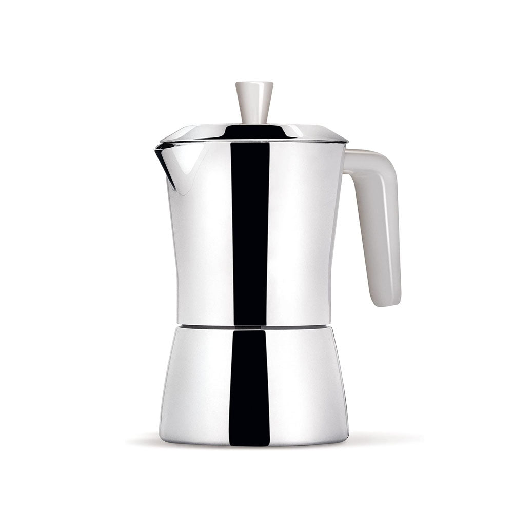 Load image into Gallery viewer, Giannini Giannina TUA Coffee Maker 6/3 cups White handle