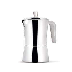 Giannini Giannina TUA Coffee Maker 6/3 cups White handle