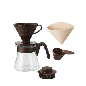 Hario V60 Pour Over Kit 02 Brown