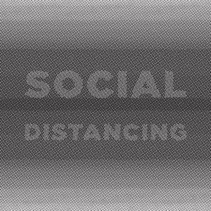 Social distancing graphic is designed to be easier to read from a distance