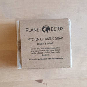 Planet detox cleaning soap
