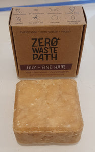 2in1 shampoo and conditioner, Zero Waste Path
