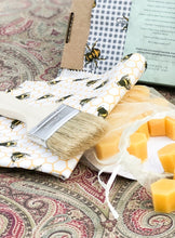 Load image into Gallery viewer, Make your own beeswax wrap gift set