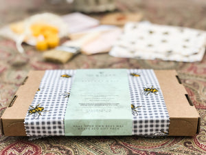 Make your own beeswax wrap gift set