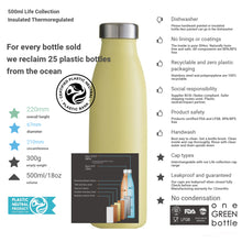 Load image into Gallery viewer, elephant – 500ml life collection bottle
