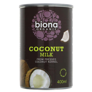 Coconut milk, organic (400ml)