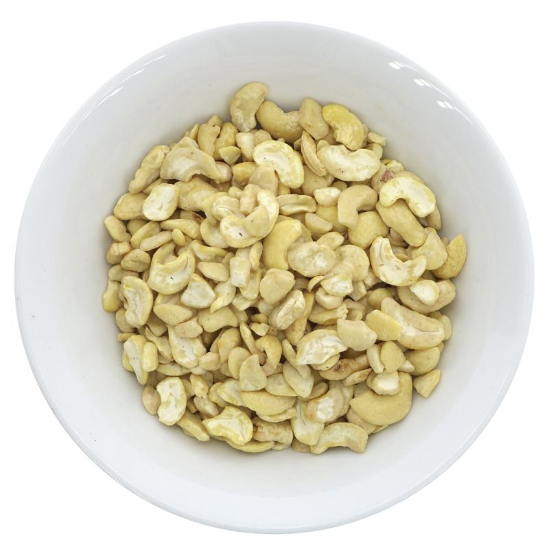 Cashew nuts, organic, large pieces (100g)