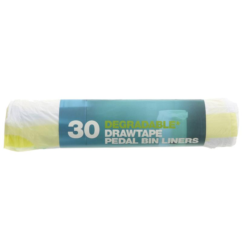 d2w degradable refuse sacks, 20l (roll of 30)
