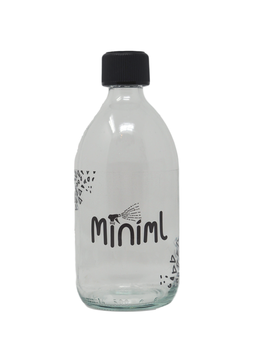 500ml glass bottle
