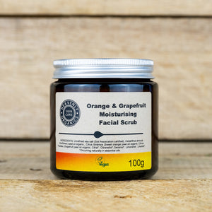 Facial scrub - Heavenly Organics