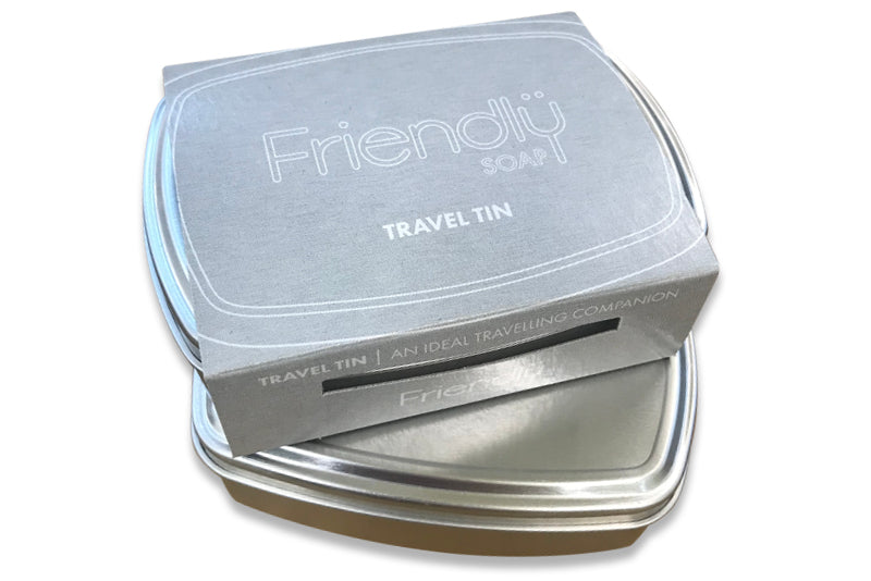 Friendly travel tin