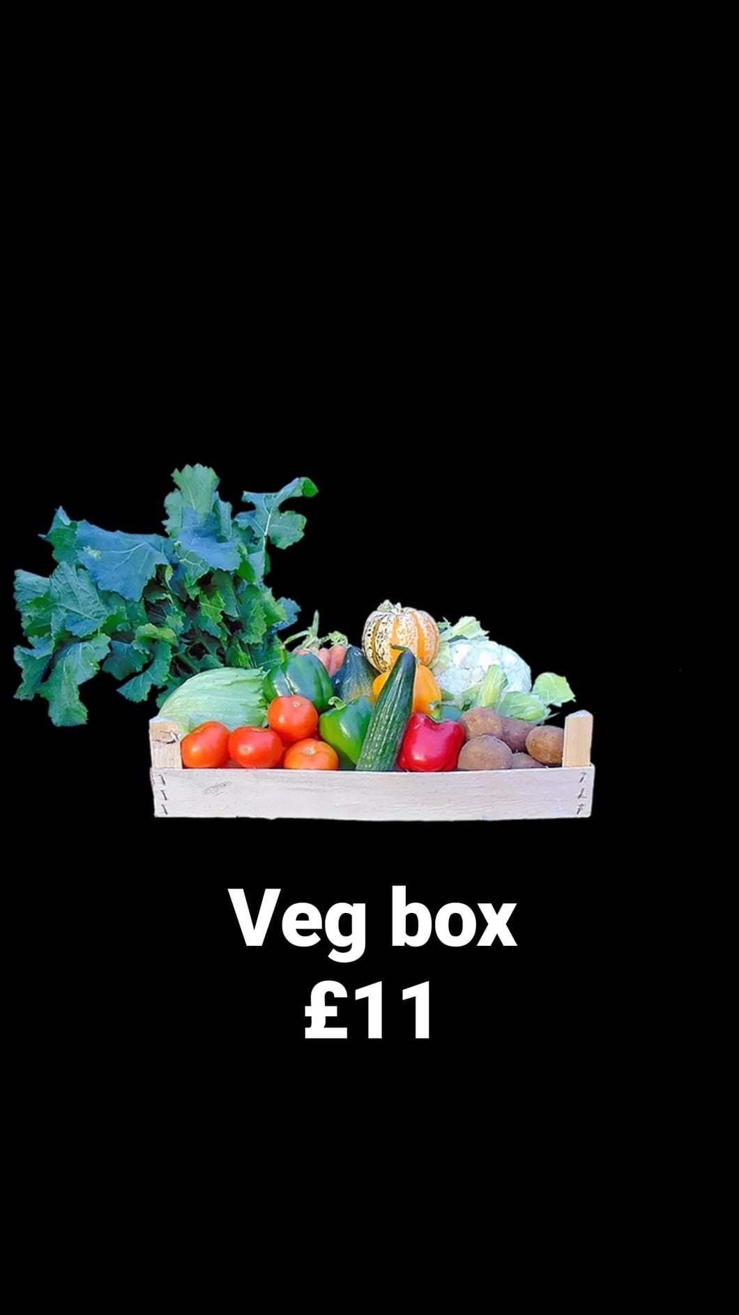 Non-organic fruit and veg boxes