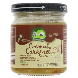 Nature's charm coconut caramel sauce (200g)