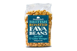 Hodmedod roasted fava beans - sea salt and cider vinegar, British (300g)