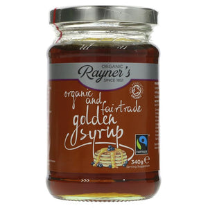 Rayners golden syrup, organic and fairtrade (340g)