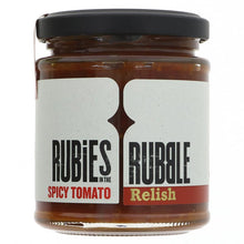 Load image into Gallery viewer, Rubies in the rubble spicy tomato relish (200g)