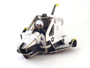 Spaceship and space ranger eco friendly playset