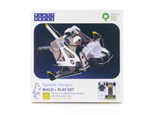 Load image into Gallery viewer, Spaceship and space ranger eco friendly playset