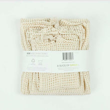 Load image into Gallery viewer, Organic cotton mesh produce bags variety pack - set of 3