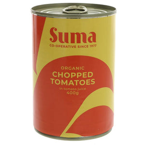 Chopped tomatoes, organic (400g)