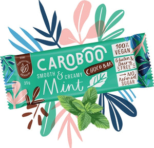 Caroboo smooth and creamy choco bar - vegan (35g)