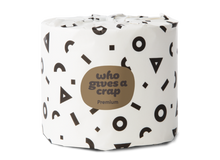 Load image into Gallery viewer, Premium bamboo toilet paper, WGAC (single roll, 370 sheets)