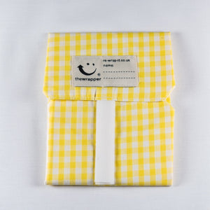 Re-wrap-it reusable sandwich wrapper