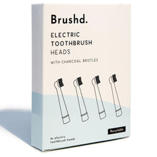 Load image into Gallery viewer, Recyclable electric toothbrush heads (pack of 4)