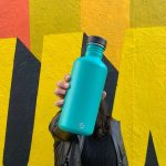 1200ml tough canteen all steel cap stainless steel bottle