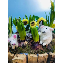 Load image into Gallery viewer, Handmade Biodegradable Felt Lulu the Lamb Hanging Easter Decoration
