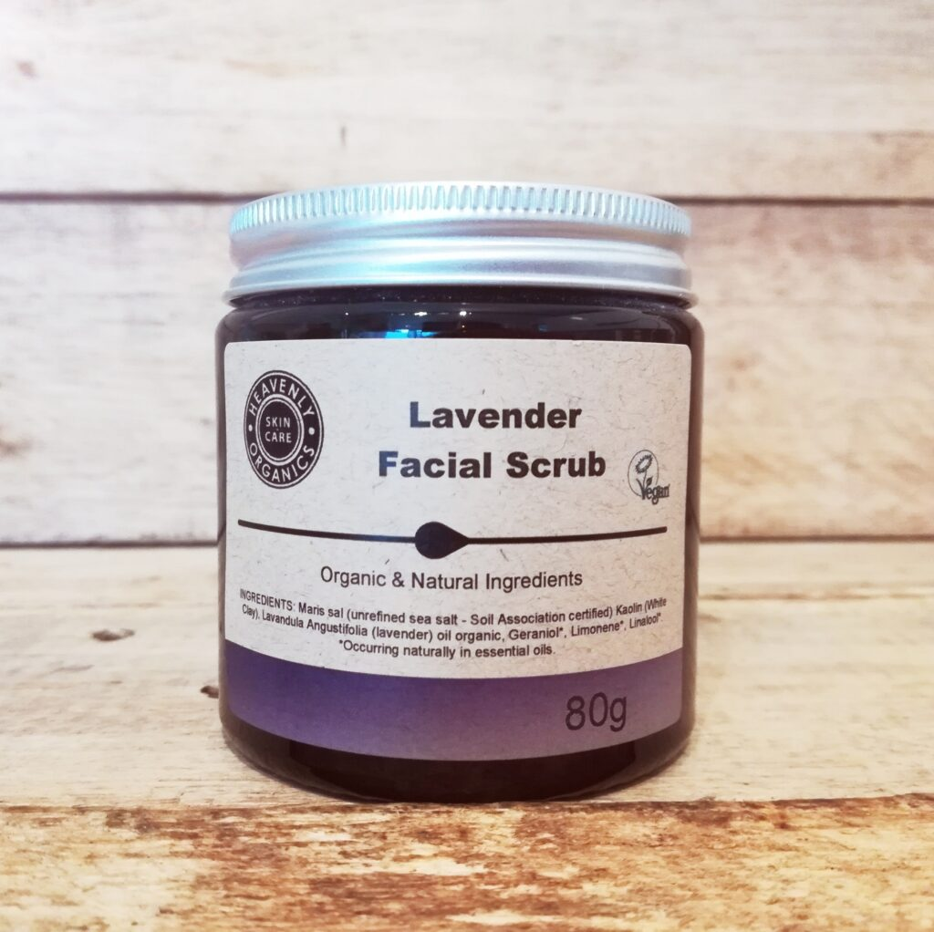 Facial scrub (80g) - Heavenly Organics