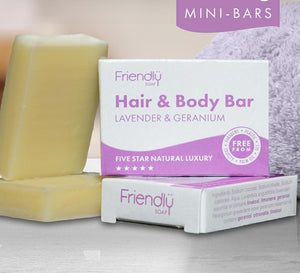 Friendly Soap, hand and body (95g)
